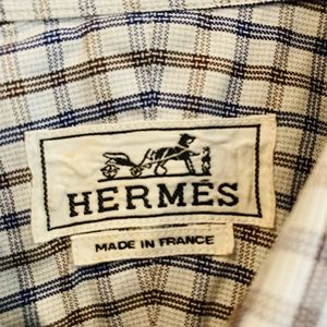 *Authentic* Hermes Dress Shirt Sz 40 (15.5 US)